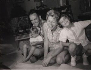Bobbie Pyron and family
